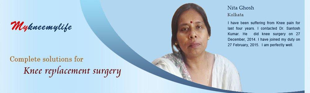 Doctor Dr Santosh Kumar | mykneemylife | my knee my life